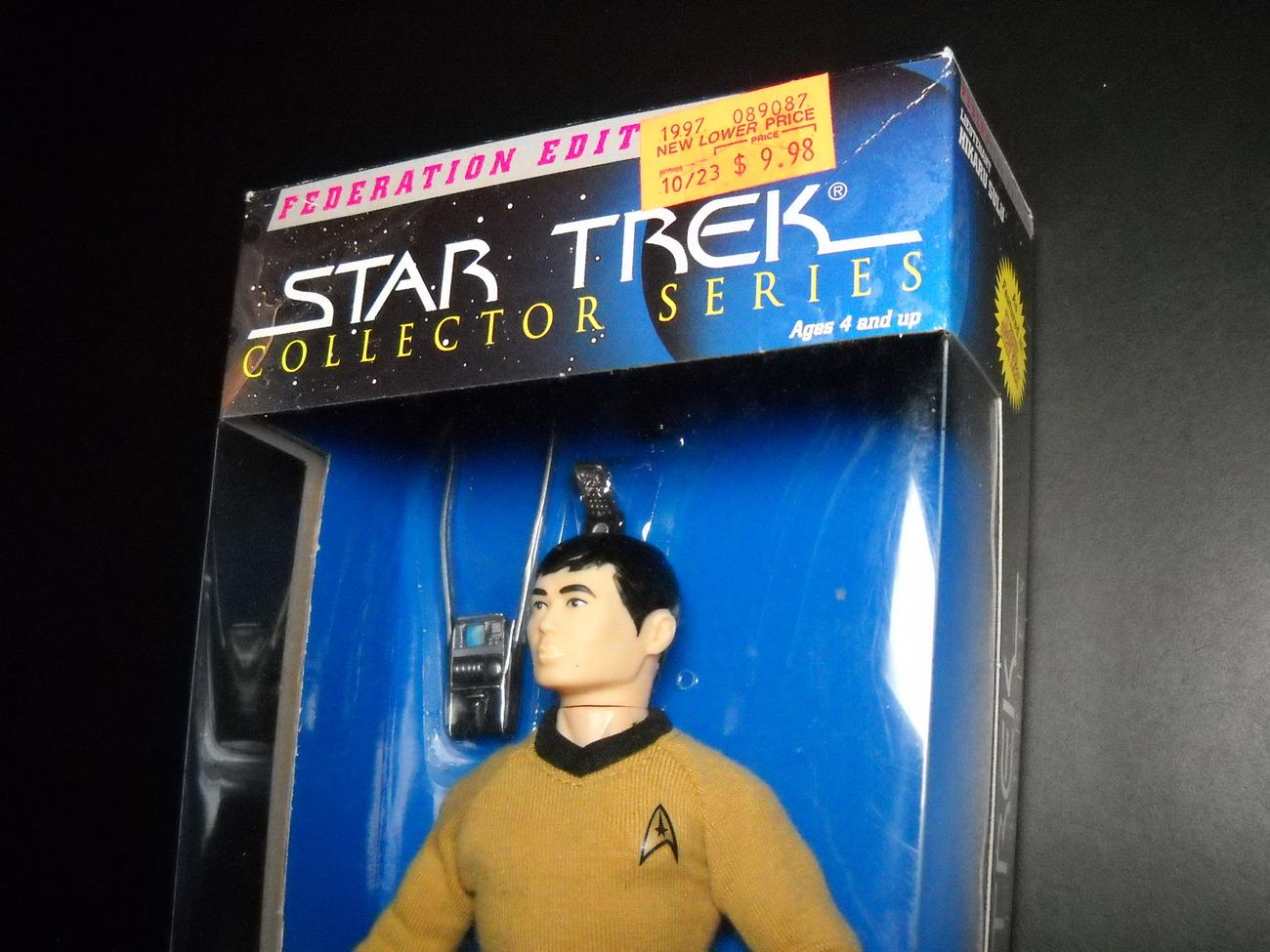 Star Trek Collector Series Federation Edition Lt Hikaru Sulu 9 Inch Sealed Box