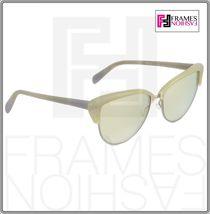 OLIVER PEOPLES ALISHA OV5244S White Pearl Flash Mirrored Sunglasses 5244 Women image 7
