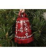 St. Nicholas Square® Red Bandana COWBELL Western Ornament  - $12.99