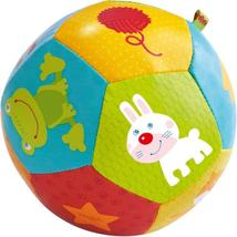 "HABA Baby Ball Animal Friends 4.5"" for Babies 6 Months and Up - $10.99"
