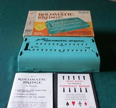 Rolomatic Bridge 1969 Milton Bradley Beginners Set - $6.50