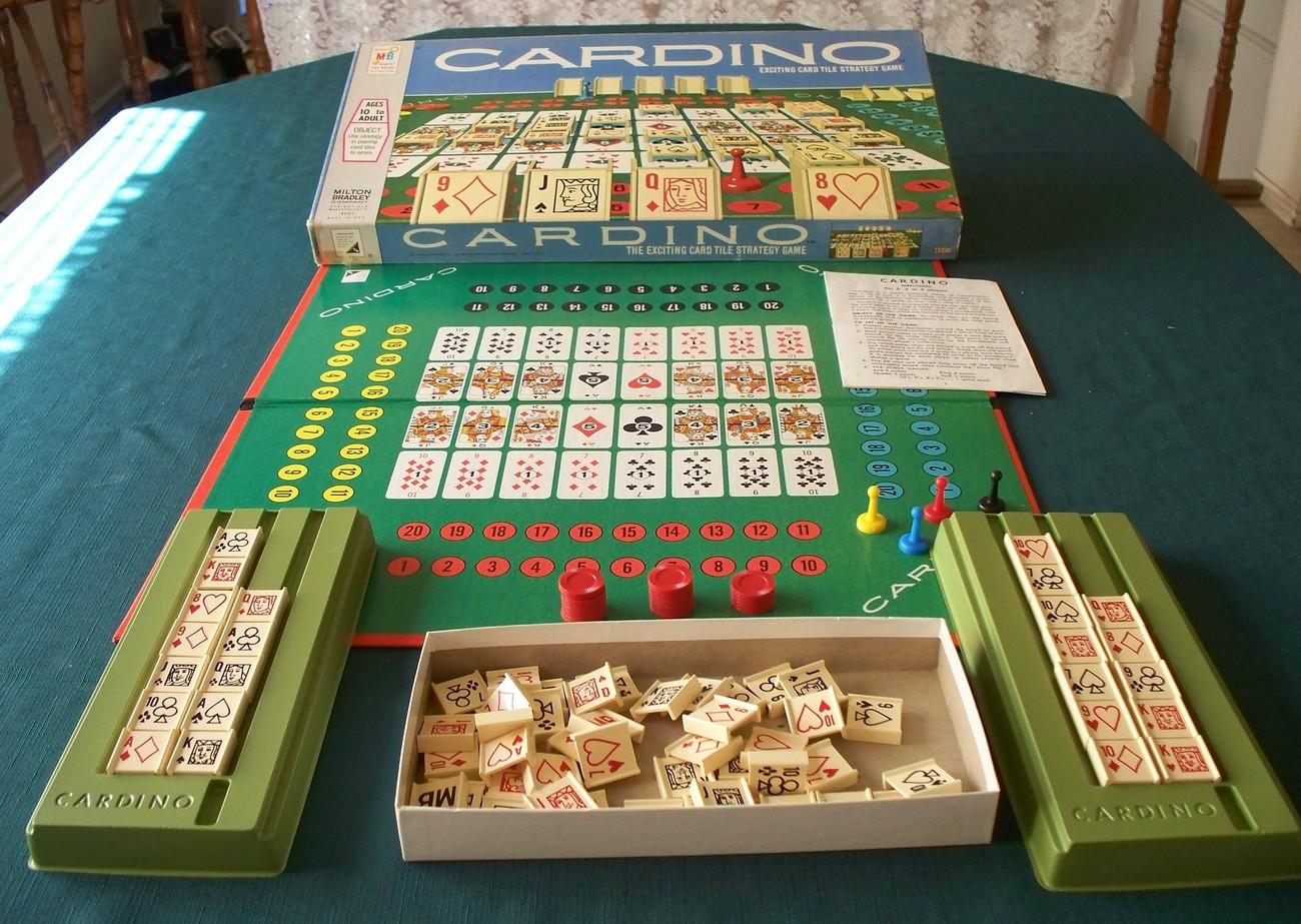 Cardino by Milton Bradley 1970. Contents VGC