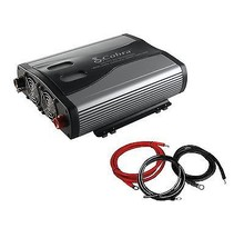 NEW! Cobra CPI1575 1500 Watt 3 Outlets DC To AC Car Power Inverter w/ Ca... - $169.99