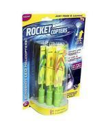 Rocket Copter ROCKCOP LED Helicopters Assorted Plastic/Rubber - As Seen ... - £14.22 GBP