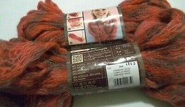 Lion Imagine Strawberry Fields Yarn 2 Skeins Super Bulky Made in Italy - $9.89