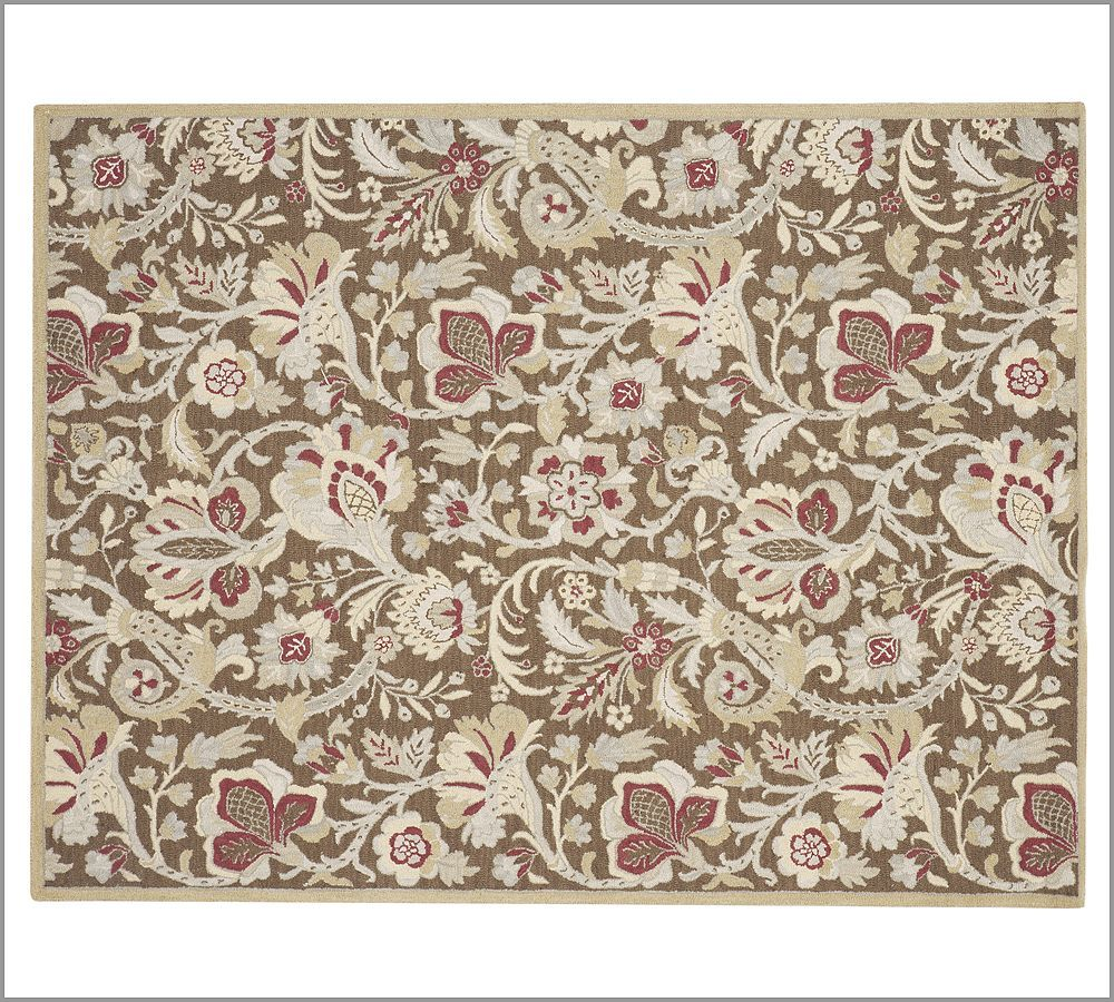 new pottery barn handmade emerson area rug 8x10 rugs carpets