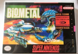 Biometal (Super Nintendo, SNES) - Reproduction Video Game Cartridge with Univers - $39.99