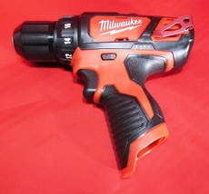 """Milwaukee M12 12V 2407-20 3/8"""" 2-SPEED Drill Driver, Tool Only - New! - $52.95"""