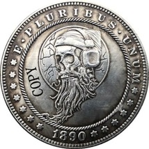 Hobo Nickel 1890-CC USA Morgan Dollar COIN COPY Type 167 - $8.99