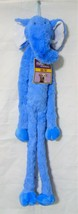 "Multipet 30"" Plush Blue Elephant Squeaker Dog Toy-NWT - $13.99"