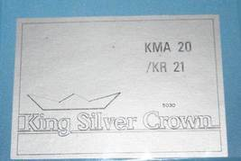 Bendix King KMA20 / KR21 MB Receiver Marker Beacon Isolation Amplifier M... - $148.50