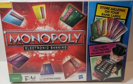 Monopoly Electronic Banking - Edition 2011 New Factory Sealed - $46.74
