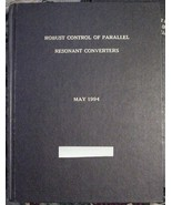 Thesis-ROBUST CONTROL OF PARELLEL RESONANT CONV... - $49.95