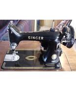 Antique Singer Sewing Machine Dec 6, 1954 99K NR - $171.95