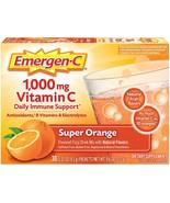 30 Ct Emergen-C Vitamin C 1000mg B Zinc Immune Support Antioxidants Supe... - $14.99