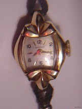 Vintage BENRUS 10K rgp Ladies Dress Watch - $53.00