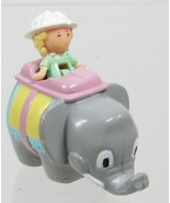 1992 Vintage Lot Polly Pocket Doll Elephant Pen Pal with Polly Pencil To... - $12.50