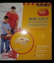 Red Toolbox Mini Golf Accessories Kit New In Box - $7.99