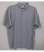 Mens Anvil NWOT Gray Short Sleeve Polo Shirt Size XL - $14.95