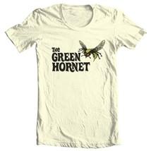 The Green Hornet tan T-shirt Free Shipping  comic book superhero tee size S-5XL image 2