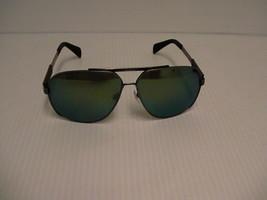 Diesel New Sunglasses men DL0088 16Q Palladium Green Full-Frame Metal 63mm  - $108.85