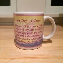 American Greetings Christian Religious Prayer Coffee Mug - Each Day's a Prayer - $9.50