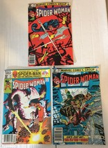 Spider-Woman #39 40 & 41 Marvel Comic Book Lot Of 3 1981 VF Condition Sp... - $8.09