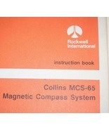 Rockwell Collins MCS-65 Magnetic Compass Instruction Installation manual... - $148.50