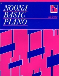 Noona Basic Piano All In One Book 4 (Level 2)