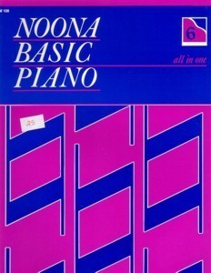 Noona Basic Piano All In One Book 6 (Level 2)