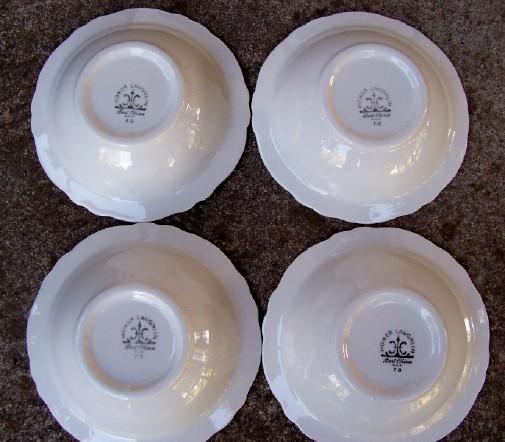 "Homer Laughlin ""Best China"" Restaurant Ware 6 1/4"" Bowls"