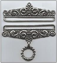 """Pewter Embossed Finish Bellpull pair 16cm (6.25"""") PT1016 - $64.80"""