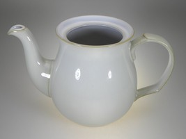 Denby Linen Teapot NO LID New With Tag Made in England - $38.67