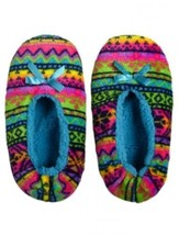 Justice Fair Isle Slippers - Multi Color Size: S