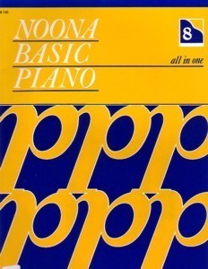Noona Basic Piano All In One Book 8 (Level 3)