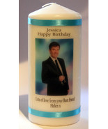 Candle Personalised Daniel O'Donnell Gift Unique Keepsake Cellini Candle... - $18.19
