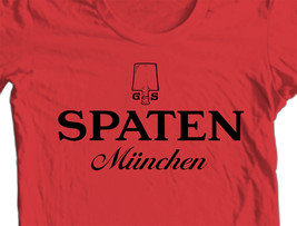 Spaten Beer T-shirt Germany Oktoberfest 100% cotton graphic printed tee image 2