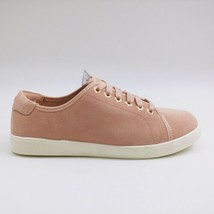 Vionic Womens Brinley Suede Lace Up Sneaker Light Pink Size US 7.5W  - $59.39