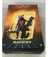 HOT TOYS Movie Masterpiece Figure MARVEL GUARDIANS OF THE GALAXY ROCKET - $275.22