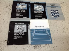 2002 Toyota Rav4 RAV 4 Service Shop Repair Manual Set FEO W EWD & Trans Body - $143.49