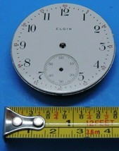Vintage ELGIN Jewel Manual Wind Pocket Watch Movement # 24973016 Repair ... - $19.39