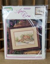 Vintage Carl Valente's Ashdon Cottage cross stitch craft needles work - $19.75