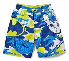 BATMAN DC COMICS UPF-50+ Bathing Suit Swim Trunks Boys Size 5-6 Up To 10-12 - $15.53+