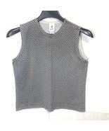 G Knitwear Silk Tank Top Womens Size Large Basketweave Pattern - $29.69