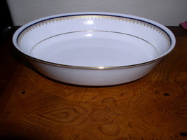 "Noritake Contemporary Fine China - Cordon (2217) -  9"" Oval Vegetable Bowl - $42.95"
