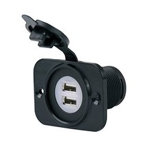 Marinco 12VDUSB Sealink Deluxe Dual USB Charger Receptacle - $33.09