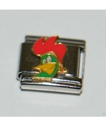 Casa Doro 9236 Corn Flakes Rooster Charm Link Stainless Steel - $9.99