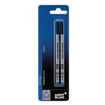 Montblanc Blue Rollerball Pen Refill Medium 2 Pack 107878 - $17.99