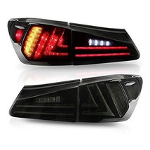 MICROPOWER LED Tail Lights for Lexus Sedan XE20 IS250 IS350 2006-2013, Rear Tail