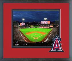 "Angel Stadium of Anaheim 2018 ""Night Game""- 11x14 Matted/Framed Photo - $43.95"
